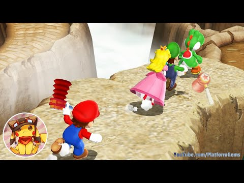 Mario Party 9 All 1 vs Rivals Minigames 1080p No commentary