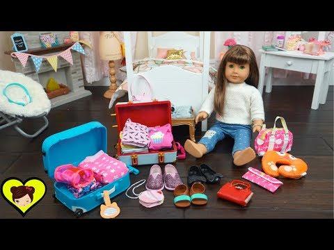 Xxx Mp4 Empacando Maletas De Viaje Para Mi Muñeca American Girl Juguetes De Titi 3gp Sex