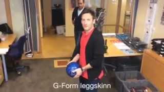 NISO tester leggskinn fra G-FORM