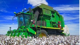 Big Australian Cotton Harvest 2014