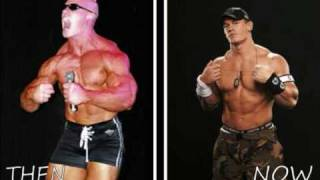 Wrestlers Then And Now Part 2