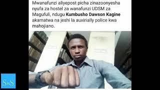 Mwanafunzi aliye post picha za nyufa kwenye mabweni ya UDSM akamatwa na Polisi
