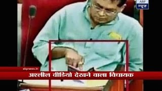 Congress MLA caught watching porn during question hour in Odisha assembly