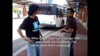 Bus Trip: Saif & Aditya Go To Hulen Mall