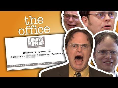 Xxx Mp4 Dwight Schrute Assistant To The Regional Manager The Office US 3gp Sex