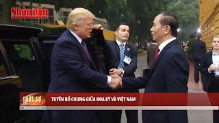 Tin Thời sự Hôm nay (22h - 12/11/2017) : Tuyên bố chung giữa Hoa Kỳ và Việt Nam