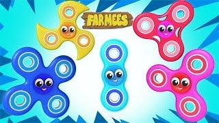 Fidget Spinner Finger Family | Nursery Rhymes For Children | Baby Songs