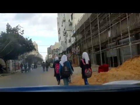 تمتع بجولة في شوارع مدينة غزة