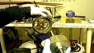 Permanent Magnet Alternator generator, part 1.02