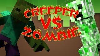 CREEPER VS ZOMBIE | ESPECIAL 1 MILLÓN | PARTE 2