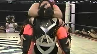 Manami Toyota vs Aja Kong, 11 20 1994 Tokyo Dome
