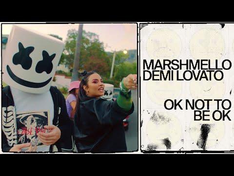 Marshmello & Demi Lovato OK Not To Be OK Official Music Video