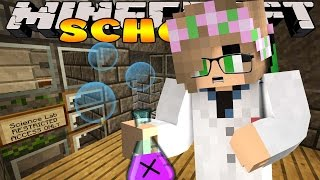 Minecraft - Little Kelly School Adventures : SCIENCE EXPERIMENT GOES WRONG!