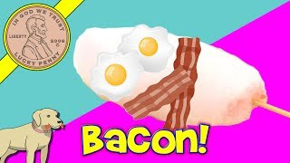 How To Make Bacon Cotton Candy! Egg On A Stick