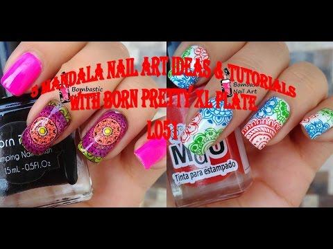 Xxx Mp4 5 Mandala Stamping Nail Art Ideas Born Pretty XL Plates BP L051 Review 3gp Sex