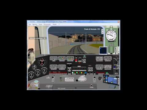 Simulatore di Treno v4.05 locomotiva E.655