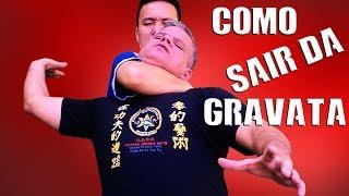COMO SAIR DE UM ESTRANGULAMENTO  -  Kung Fu Defesa Pessoal nas Artes Marciais