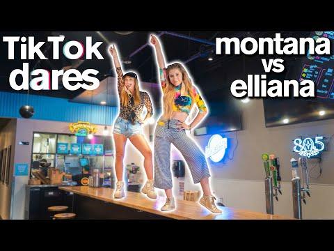 Epic TIKTOK CHALLENGE ft. Dance Moms Elliana Walmsley vs Montana Tucker