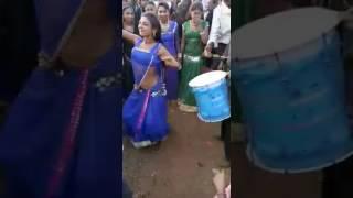 Hot roudy indian village beautiful girl dance