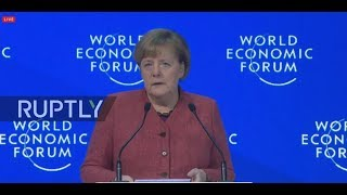 LIVE: WEF 2019: Angela Merkel special address (ENGLISH)