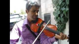 Violinist in the street-Iranian