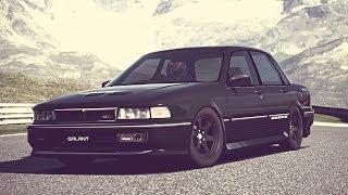 (GT6) Mitsubishi GALANT 2.0 DOHC Turbo VR-4 '89 - Exhaust Comparison