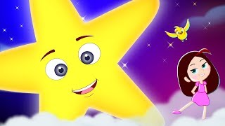 Twinkle Twinkle Little Star - Kids Song   Popular Nursery Rhymes    Bamboo Sky Studios