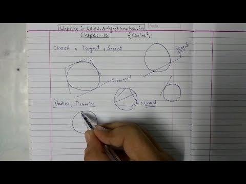 Xxx Mp4 Chapter 10 Circles Introduction And Ex 10 1 Q1 Q2 NCERT Maths Class 10 3gp Sex