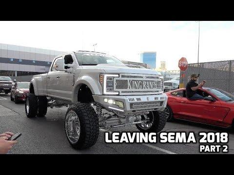 Xxx Mp4 Leaving SEMA 2018 Part 2 15 Min Of Vehicles 3gp Sex