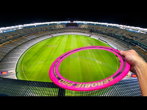 Can The World Record Frisbee Fly The Length Of This Stadium