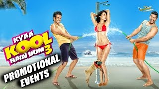 Kyaa Kool Hain Hum 3 Full Movie ᴴᴰ (2016) | Tusshar, Aftab, Mandana, Gizele | Promotional Events