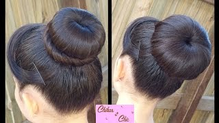Classic Donut Bun (2 Options!) | Quick and Easy Hairstyles | Dance hairstyles |  Buns