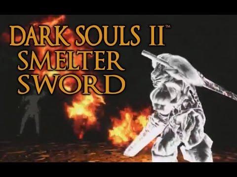 Dark Souls 2 Smelter Sword Tutorial (dual wielding w/ power stance)