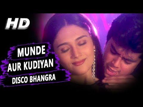 Xxx Mp4 Munde Aur Kudiyan Disco Bhangra Karne Aaye Hai Udit Narayan Alka Yagnik Shapath HD Songs Jackie 3gp Sex