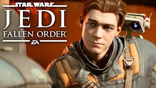 Star Wars Jedi: Fallen Order — Official Extended Cut 4K Gameplay Demo
