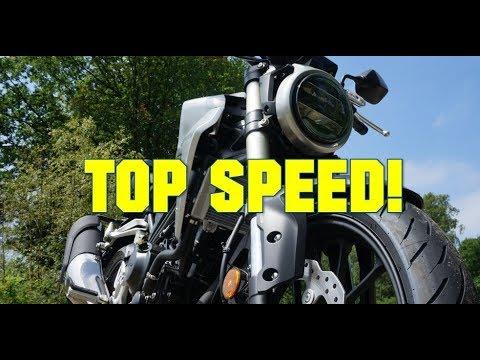 2018 Honda CB300R TOP speed