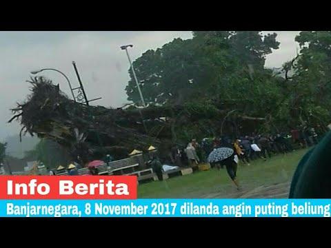 Detik detik Angin Puting Beliung Banjarnegara