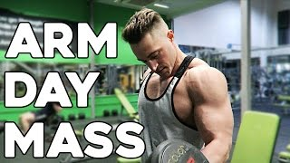 ARM workout for MASS & SIZE / Old School Superset Training / Biceps Triceps