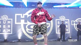 Chris Brown Dancing | Hot 97's Summer Jam 2015