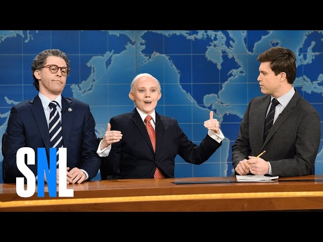 Weekend Update: Al Franken and Jeff Sessions - SNL