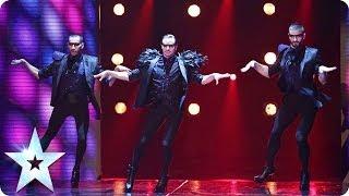 Well heeled dancers Yanis Marshall, Arnaud and Mehdi   Britain's Got Talent 2014