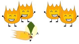 Very Hot BFDI! (Animation)