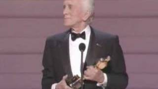 Kirk Douglas receiving an Honorary Oscar®