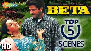 Top 5 Scenes From Beta (HD) - Anil Kapoor, Madhuri Dixit - Hindi Bollywood Movie
