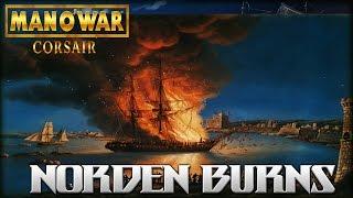 CHAOS NAVY BURNS NORDEN - Man O' War: Corsair (Warhammer Fantasy)