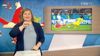 FIFA WC 2018 - SRB vs. SUI – for Deaf and Hard of Hearing - International Sign
