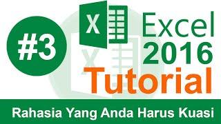 Belajar Excel (Cara Menguasai Ms Excel 2016 Untuk Pemula)