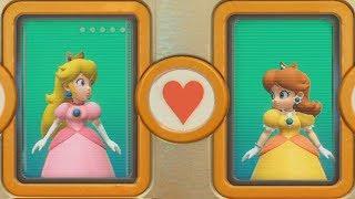 Super Mario Party - Peach vs Daisy (Very Hard Difficulty)| Cartoons Mee