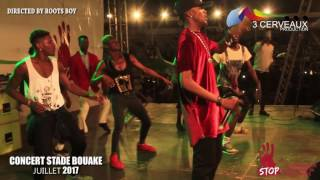 Prestation de Debordo Leekunfa - concert stade de bouake 2017