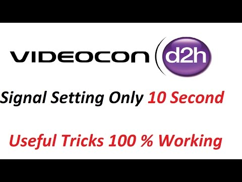 Xxx Mp4 Videocon D2H Signal Setting Kaise Kare D2H Dish Setting With Free To Air Box 3gp Sex